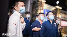 PSG.LGD coach xiao8 with his team
