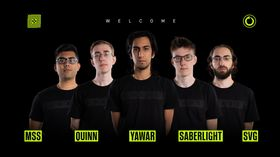 Chaos Esports signs new roster