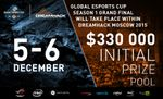 Dreamhack Moscow to host Global eSports Cup # 1 LAN finals this December