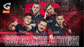 Gambit Esports win header
