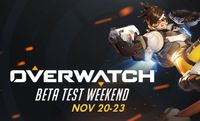 First Overwatch Beta Test Weekend coming this weekend