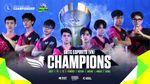 SBTC Esports champions of Wild Rift SEA Championship 2021