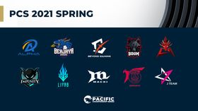 The PCS 2021 Spring Split is upon us!