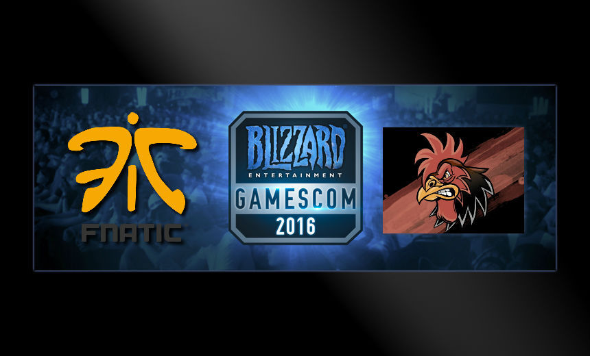 Fnatic and Crowing Chickens qualify for Gamescom
