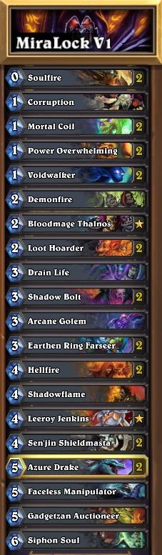 miracle warlock guide decklist