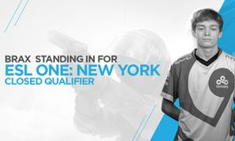 ESL One New York 2017 - Braxton 'swag' Pierce to stand-in for Cloud9 at qualifier