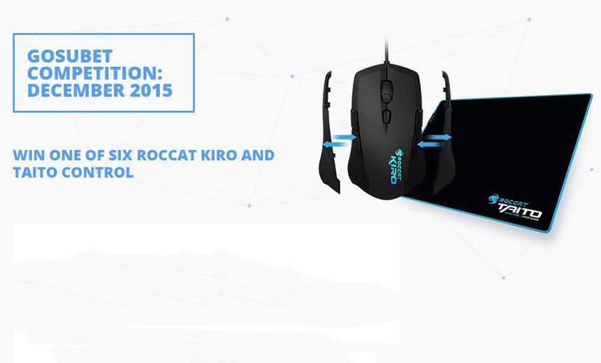 Compete in our December GosuBet contest, win state of the art ROCCAT peripherals