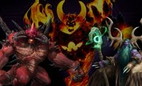 Heroic Trios: Ragnaros, Malfurion and Diablo