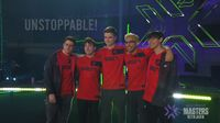 Sentinels posing after moving to grand finals