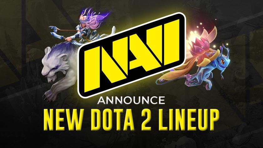 NAVI logo new dota 2 lineup