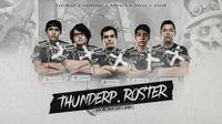 new Thunder Predator roster