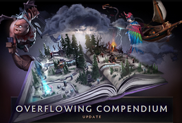 Dota 2 patch: Overflowing Compendium Update
