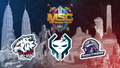 MSC 2021 Group D team logos
