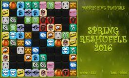 The Spring Reshuffle log