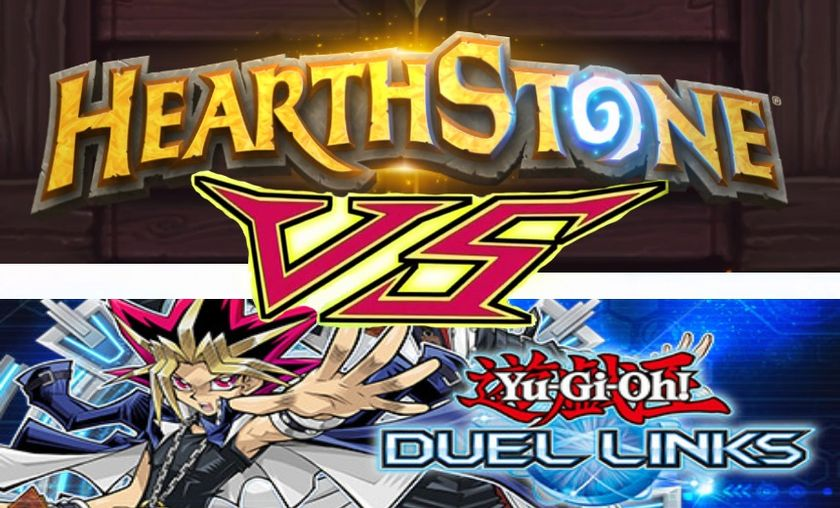 Hearthstone Feature: Yugioh Duel Links is a horrible mess
