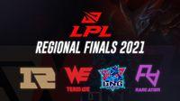 lpl regional finals 2021