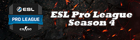 GosuGamers eSports Events - ESL Pro League Season 4