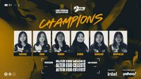 Alter Ego Celestè wins another championship at the VCT Game Changers SEA: FSL VALORANT Circuit