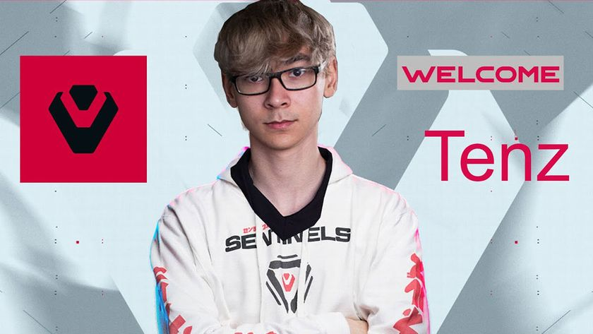 TenZ with Sentinels