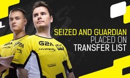 GuardiaN and seized step down from Natus Vincere's starting roster